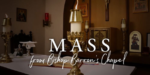 Daily Mass from Bishop Barron's Chapel