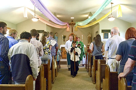Mass at Our Lady of the Valley