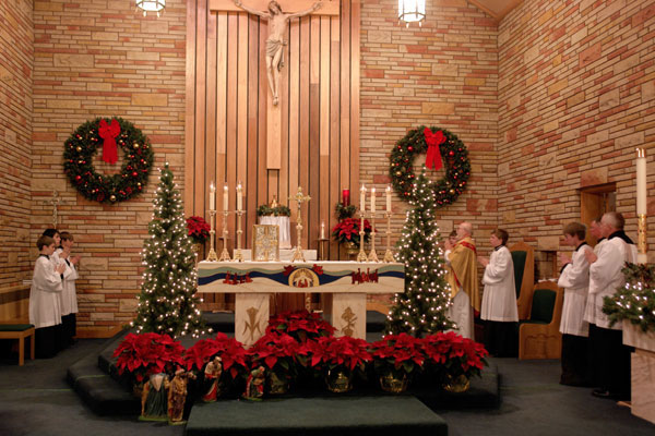 Christmas Mass at the Church of St. Anthony