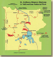 Yellowstone Map. Click image to enlarge.